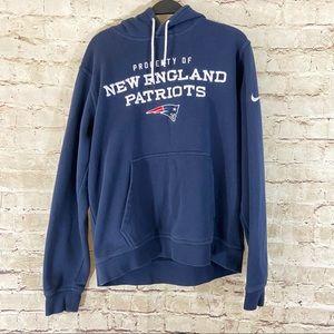Men's Nike New England Patriots hoodie size M